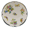 Herend Queen Victoria Blue Border Dinner Plate 10.5 in VBO-Y301524-0-00