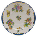 Herend Queen Victoria Blue Border Salad Plate 7.5 in VBO-Y301518-0-00