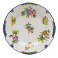 Herend Queen Victoria Blue Border Dessert Plate 8.25 in VBO-Y301520-0-00