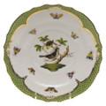 Herend Rothschild Bird Borders Green Salad Plate No.1 7.5 in RO-EV-01518-0-01