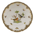 Herend Rothschild Bird Borders Brown Dinner Plate No.5 10.5 in ROETM201524-0-05
