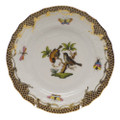 Herend Rothschild Bird Borders Brown Bread and Butter Plate No.12 6 in ROETM201515-0-12