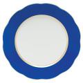 Herend Silk Ribbon Cobalt Blue Service Plate 11 in CB8---20527-0-00