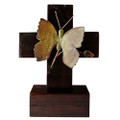 Jan Barboglio Butterfly Cross 9x8.25x12.5 in 7237