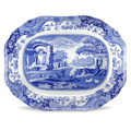Spode Blue Italian Oval Platter 14 in 1532801