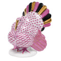 Herend Tom Turkey Fishnet Raspberry 2.5 x 3.25 in VHP---05230-0-00