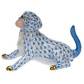 Herend Labrador with Ball Fishnet Blue 3 in SVHB--15847-0-00
