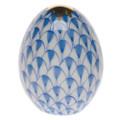 Herend Miniature Egg Fishnet Blue 1.5 in VHB---15250-0-00