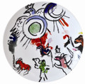 Bernardaud Marc Chagall The Hadassah Windows (1962) Coupe Dinner Plate GAD TRIBE 10.6 in