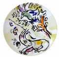 Bernardaud Marc Chagall The Hadassah Windows (1962) Coupe Dinner Plate NEPHTALIE TRIBE 10.6 in