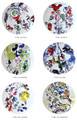 Bernardaud Marc Chagall The Hadassah Windows (1962) Coupe Dinner Plate Set of Six 10.6 in 116821259-6-V1