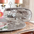 Beatriz Ball Organic Pearl Nova Oval Tray 17 in 6132