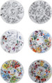 Bernardaud Marc Chagall The Hadassah Windows (1962) Coupe Salad Plate Set of Six 8.5 in 116821260-6-V2