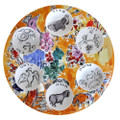 Bernardaud Marc Chagall The Hadassah Windows (1962) Dishes Set of Six (for Seder Platter JOSEPH TRIBE) (Seder Platter sold separately)