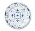 Royal Copenhagen Blue Fluted Full Lace Dessert/Salad Plate 7.5 in 1017238