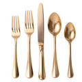 Juliska Bistro Gold FW 5-piece Place Setting FWC29/68