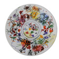 "Bernardaud Marc Chagall ""Ceiling of the Garnier Opera"" Coupe Salad Plate 8.3 No.4 (1963)"