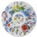 "Bernardaud Marc Chagall ""Dome of the Garnier Opera"" (1963) Coupe Plate 14"""