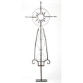 Jan Barboglio Sol Cross with Sun 28.5x.75x71 in 7511