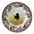 Spode Woodland Black Labrador Dinner Plate 10.5 in. 1359552