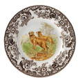 Spode Woodland Golden Retreiver Dinner Plate 10.5 in. 1359569