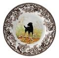 Spode Woodland Black Labrador Salad Plate 8 in. 1369568