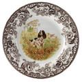 Spode Woodland English Springer Spaniel Salad Plate 8 in. 1369582