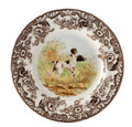 Spode Woodland Flat Coated Pointer Salad Plate 8 in. 1369599