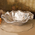 Beatriz Ball Organic Pearl Diana Bowl Large 15x15x5 in 6637