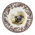 Spode Woodland Black Bear Salad Plate 8 in. 1884931