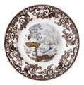 Spode Woodland Snowshoe Rabbit Salad Plate 8 in. 1381287