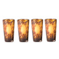 Jan Barboglio 'El Jefe' Jaguar Tall Shot Glass Set of Four 2.25x2.25x4.25 5416 000.144