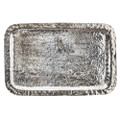 Jan Barboglio Mission Tray, Nickel 19.5x12.5x1 in 2333NK 425.408