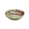 Casafina Deer Friends Serving Bowl Small 9 in DF634-GRN