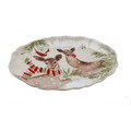 Casafina Deer Friends Oval Platter Large 19.75x14 in DF622-LIN