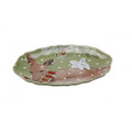 Casafina Deer Friends Oval Platter Small 12.75x8.75 in DF623-GRN