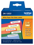 Brother dk1203 printer labels