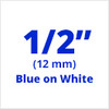TC-22 blue on white label