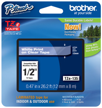 Brother TZ-135 p-touch tape