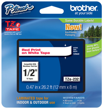 Brother TZ-232 p-touch tape