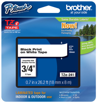 Brother TZ-241 p-touch tape