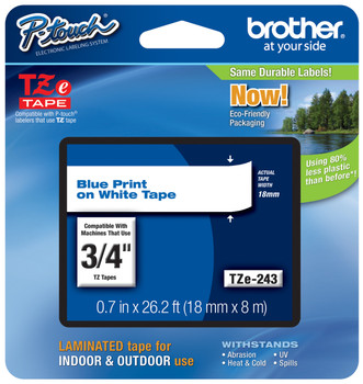 Brother TZ-243 p-touch tape