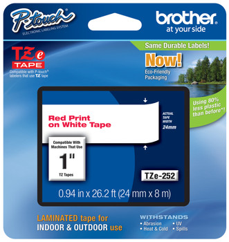 Brother TZ-252 p-touch tape