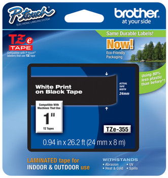 Brother TZ-355 p-touch tape