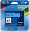 Brother TZe-541 3/4 In. Black On Blue P-touch Tape, TZ-541