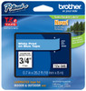 Brother TZe-545 3/4 In. White On Blue P-touch Tape, TZ-545