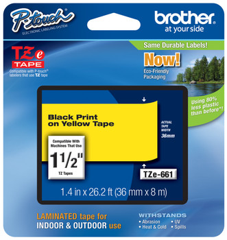 Brother TZ-661 p-touch tape