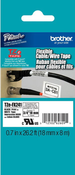 Brother TZEFX241 flexible p-touch tape