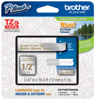 Brother TZ-MQ934 p-touch tape