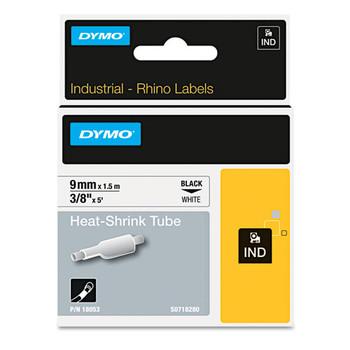 Dymo 18053 IND White Heat Shrink Tube
